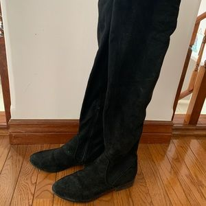ALDO over the knee black boots Size 7